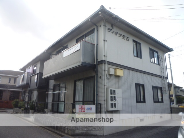 愛媛県松山市、土橋駅徒歩20分の築20年 2階建の賃貸アパート