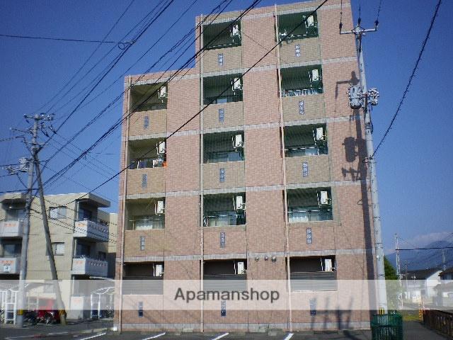 愛媛県東温市、牛渕団地前駅徒歩1分の築14年 5階建の賃貸マンション
