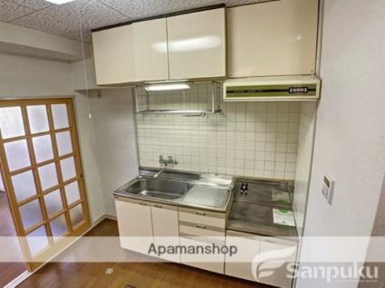スプリングハイツ[1DK/25.92m2]のキッチン