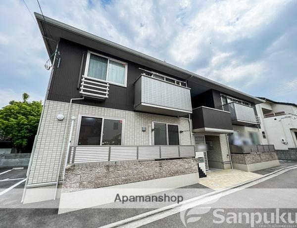 愛媛県伊予市、伊予市駅徒歩3分の新築 2階建の賃貸アパート