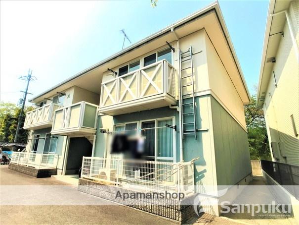 愛媛県松山市、石手川公園駅徒歩12分の築23年 2階建の賃貸アパート