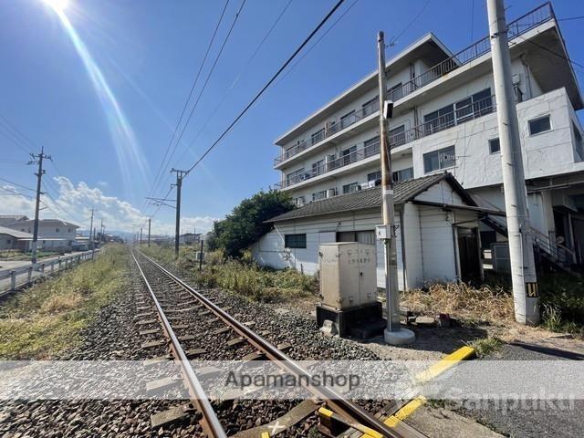 愛媛県松山市、伊予北条駅徒歩14分の築44年 4階建の賃貸アパート