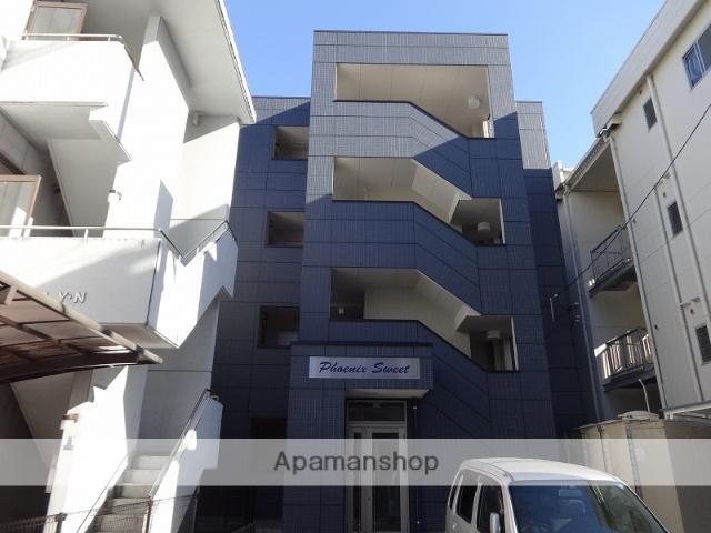 高知県高知市、デンテツターミナルビル前駅徒歩11分の築2年 4階建の賃貸マンション