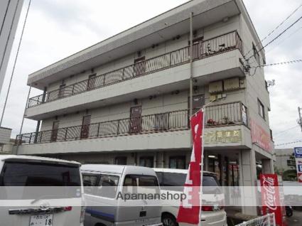 高知県高知市、鴨部駅徒歩16分の築20年 3階建の賃貸アパート