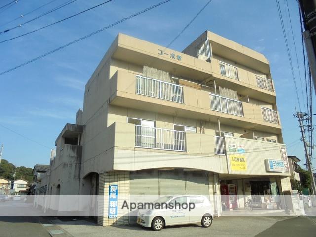 高知県高知市の築33年 4階建の賃貸アパート