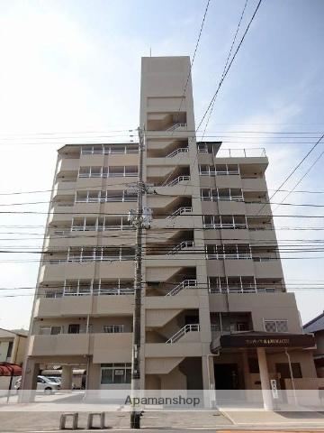 高知県高知市、グランド通駅徒歩5分の築20年 8階建の賃貸マンション