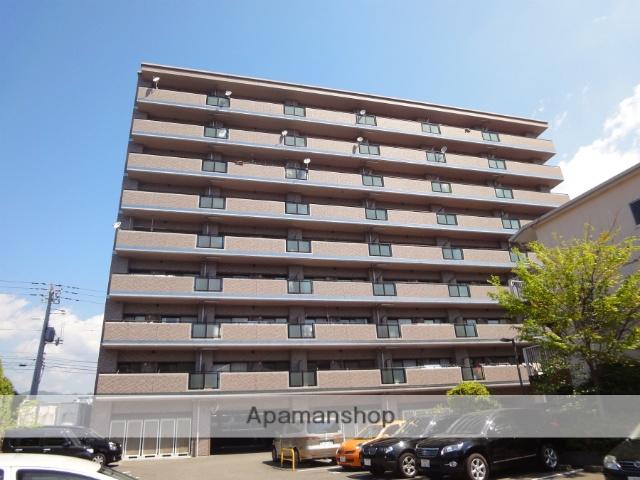 高知県高知市、県庁前駅徒歩11分の築15年 9階建の賃貸マンション