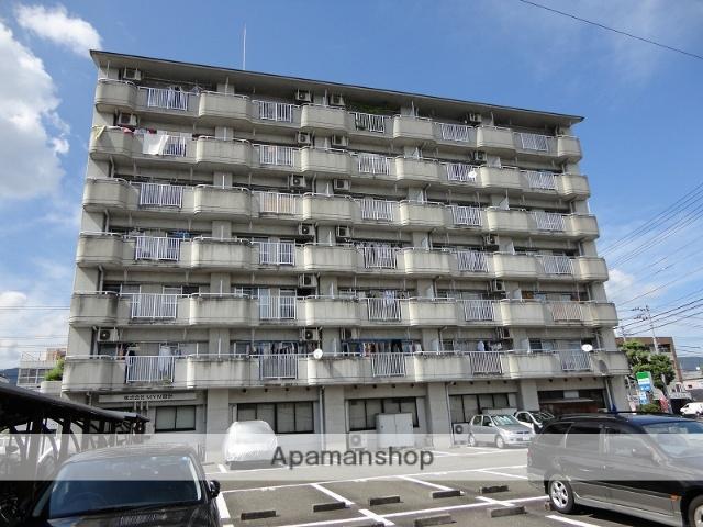 高知県高知市、高知駅徒歩11分の築28年 7階建の賃貸マンション