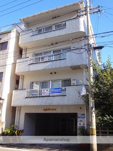 高知県高知市、デンテツターミナルビル前駅徒歩9分の築26年 4階建の賃貸アパート