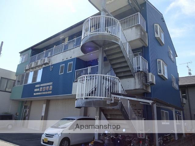 高知県高知市、旭町三丁目駅徒歩16分の築22年 3階建の賃貸マンション