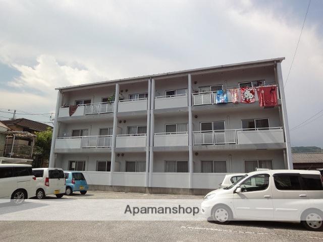 高知県高知市、高知駅徒歩11分の築20年 3階建の賃貸マンション
