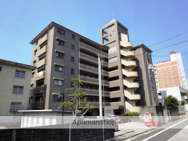 高知県高知市、宝永町駅徒歩8分の築26年 7階建の賃貸マンション