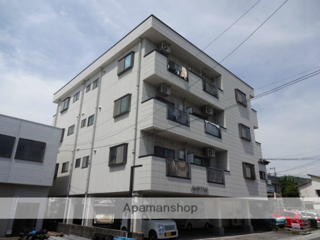 高知県高知市、桟橋通三丁目駅徒歩11分の築21年 4階建の賃貸アパート