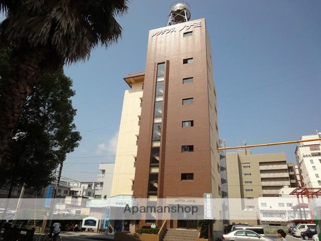 高知県高知市、高知駅徒歩4分の築32年 8階建の賃貸マンション