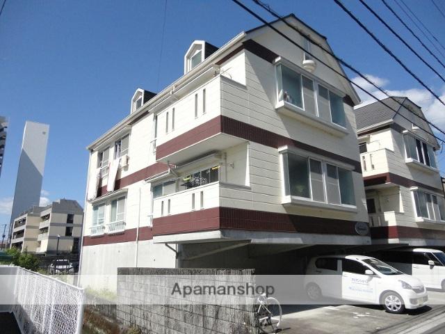 高知県高知市、高知駅徒歩9分の築20年 2階建の賃貸アパート