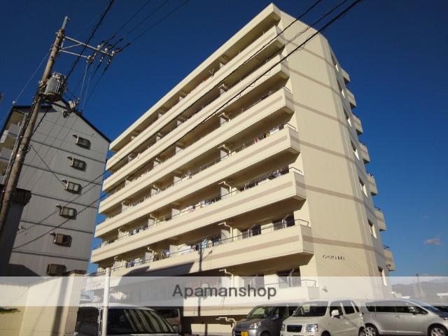 高知県高知市、県立美術館通駅徒歩7分の築25年 8階建の賃貸マンション