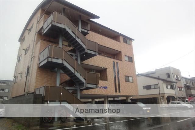 高知県高知市、薊野駅徒歩17分の築15年 4階建の賃貸マンション