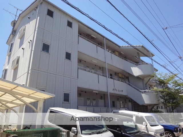 高知県高知市、朝倉駅徒歩9分の築23年 3階建の賃貸マンション