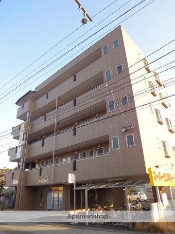 高知県高知市、鴨部駅徒歩2分の築9年 5階建の賃貸マンション