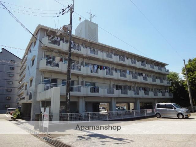 高知県高知市、県立美術館通駅徒歩7分の築32年 4階建の賃貸マンション
