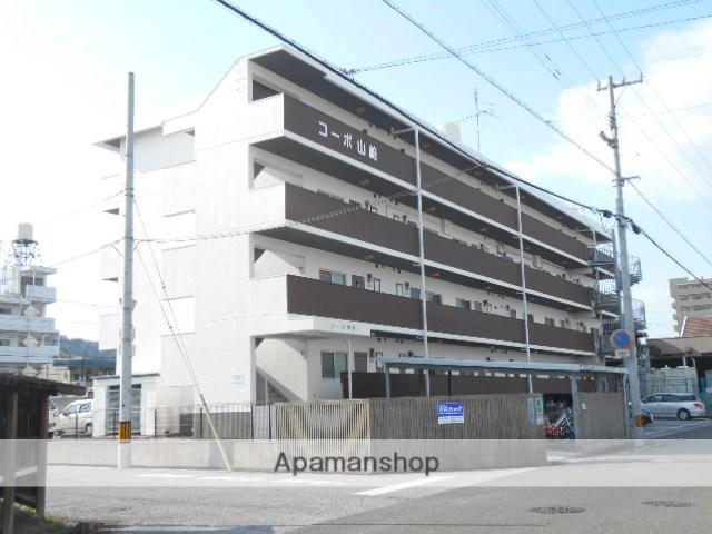 高知県高知市、文珠通駅徒歩7分の築35年 4階建の賃貸マンション