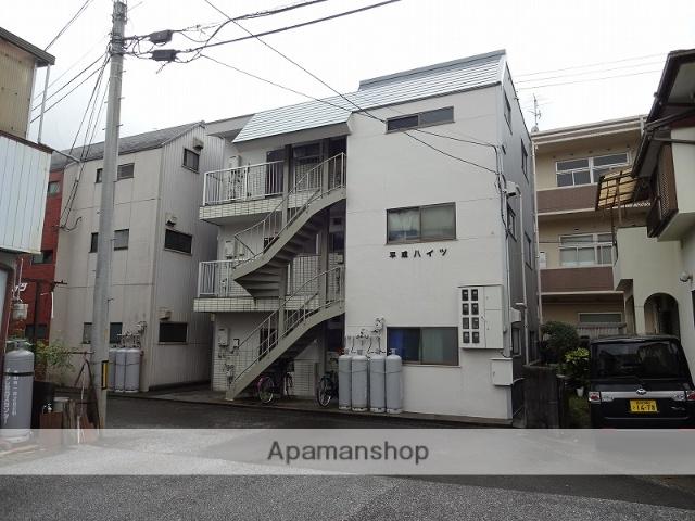 高知県高知市、朝倉駅徒歩20分の築30年 3階建の賃貸アパート