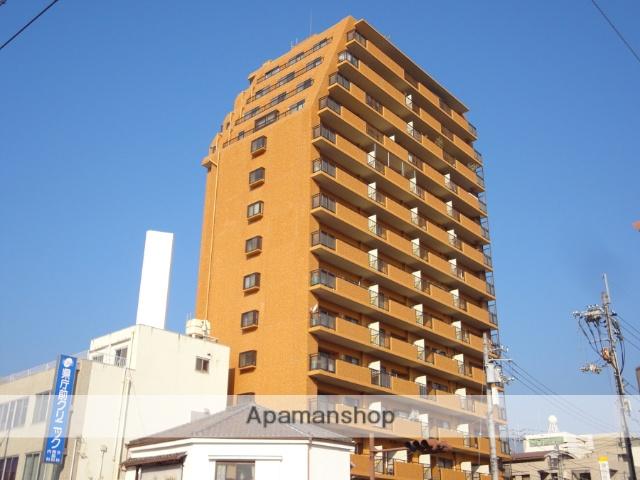 高知県高知市、県庁前駅徒歩4分の築27年 15階建の賃貸マンション