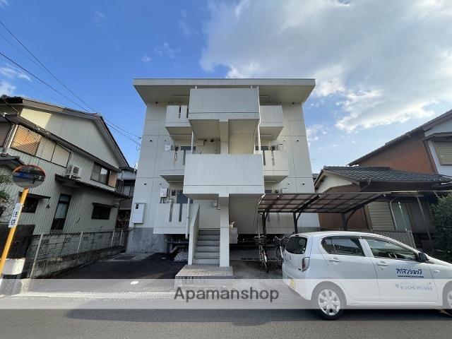 高知県高知市、朝倉駅徒歩20分の築27年 3階建の賃貸マンション
