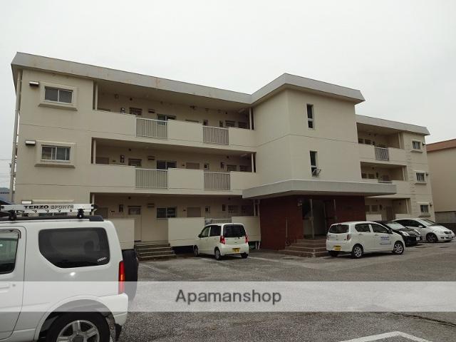 高知県高知市、上町四丁目駅徒歩11分の築35年 3階建の賃貸マンション