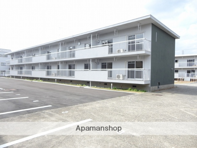 高知県高知市、円行寺口駅徒歩7分の築45年 2階建の賃貸マンション