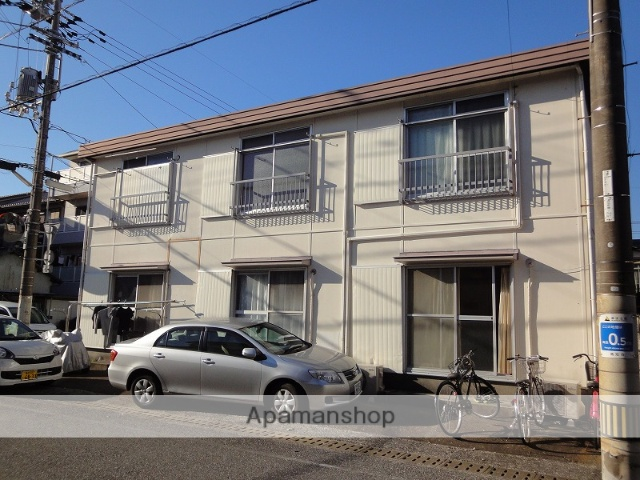 高知県高知市、桟橋通二丁目駅徒歩5分の築36年 2階建の賃貸アパート