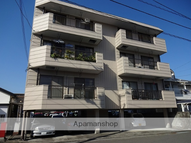 高知県高知市、知寄町三丁目駅徒歩7分の築28年 4階建の賃貸アパート
