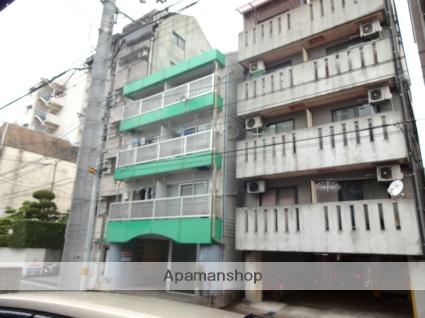 高知県高知市、デンテツターミナルビル前駅徒歩10分の築25年 4階建の賃貸マンション
