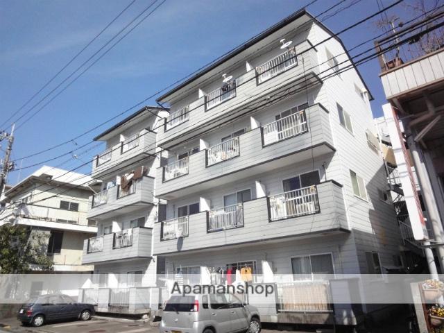 高知県高知市、桟橋通四丁目駅徒歩6分の築28年 4階建の賃貸マンション
