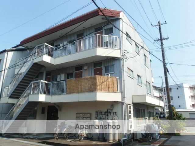 高知県高知市、薊野駅徒歩16分の築32年 3階建の賃貸アパート