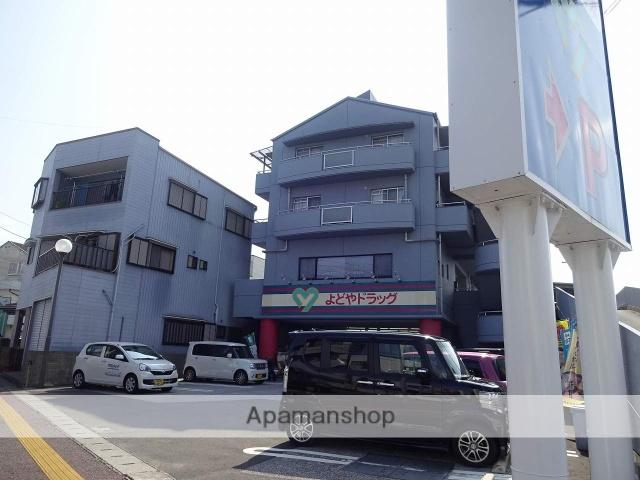 高知県高知市、上町四丁目駅徒歩10分の築20年 4階建の賃貸マンション