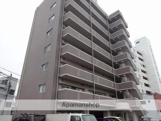 高知県高知市、上町一丁目駅徒歩12分の築17年 8階建の賃貸マンション