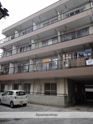 高知県高知市、県立美術館通駅徒歩6分の築29年 4階建の賃貸マンション