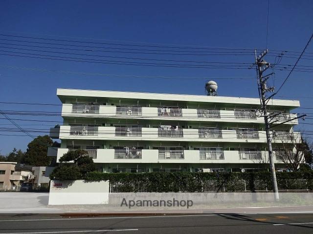 高知県高知市、朝倉駅徒歩3分の築38年 4階建の賃貸マンション