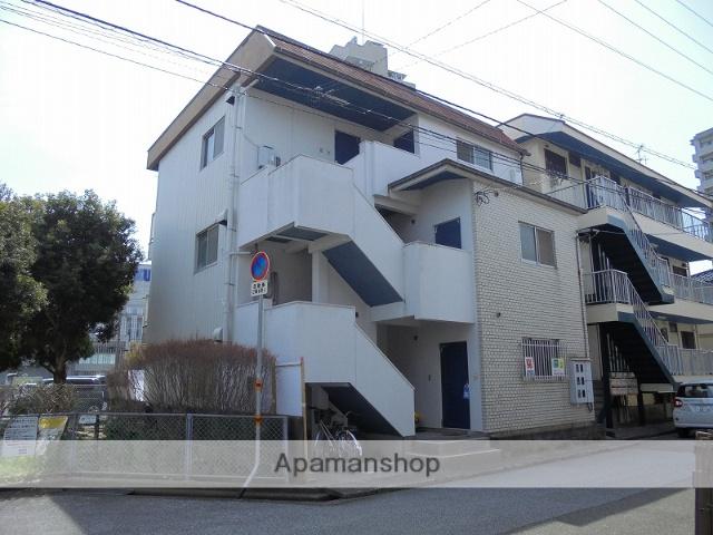 高知県高知市、高知駅徒歩9分の築34年 3階建の賃貸アパート