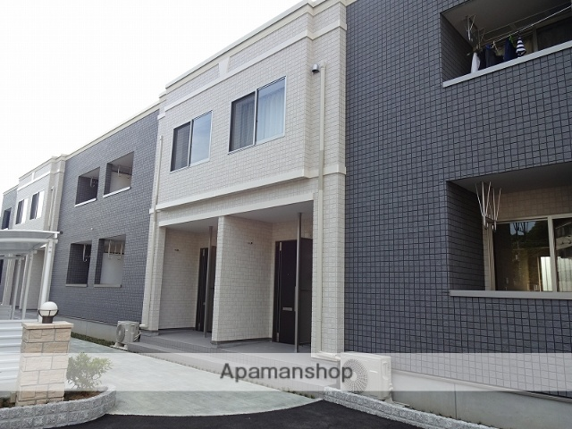 高知県高知市、グランド通駅徒歩17分の新築 2階建の賃貸アパート