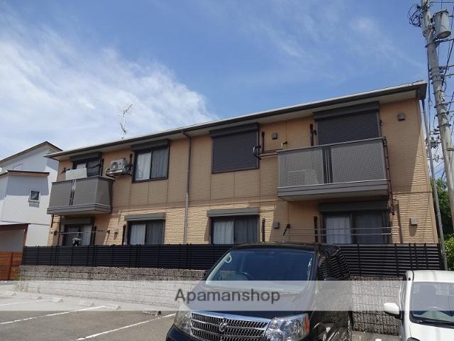 高知県高知市、朝倉駅徒歩13分の築13年 2階建の賃貸アパート