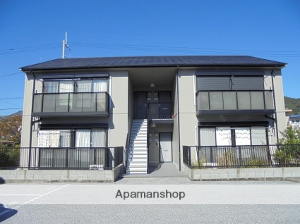 高知県南国市の築19年 2階建の賃貸アパート