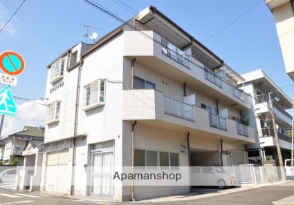 高知県高知市、旭駅徒歩8分の築28年 3階建の賃貸アパート