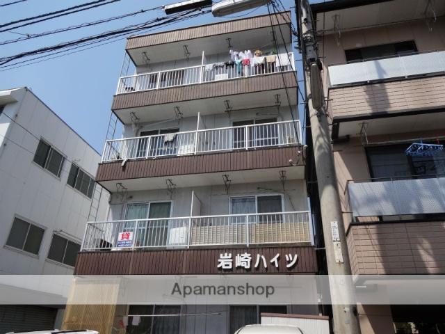 高知県高知市、桟橋通二丁目駅徒歩7分の築24年 4階建の賃貸アパート
