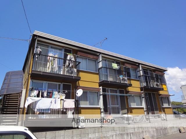 高知県高知市の築33年 2階建の賃貸アパート