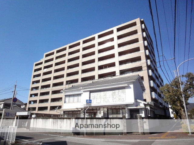 高知県高知市、グランド通駅徒歩8分の築9年 10階建の賃貸マンション