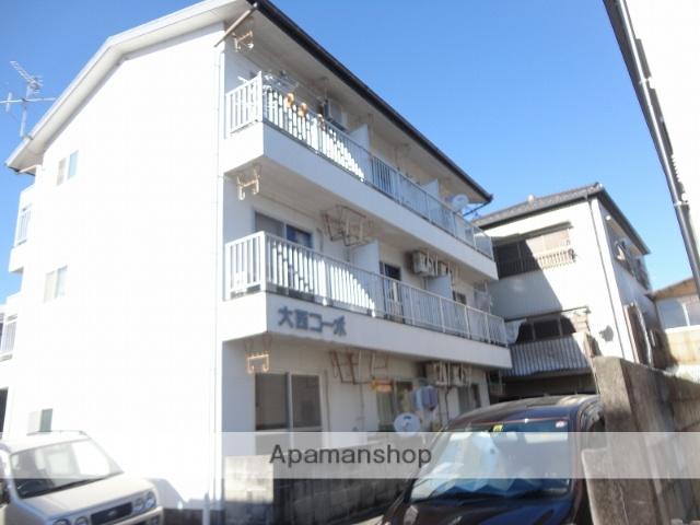 高知県高知市、上町一丁目駅徒歩12分の築28年 3階建の賃貸アパート