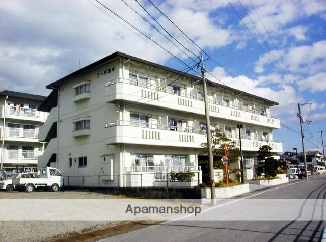 高知県高知市、県立美術館通駅徒歩12分の築32年 3階建の賃貸マンション