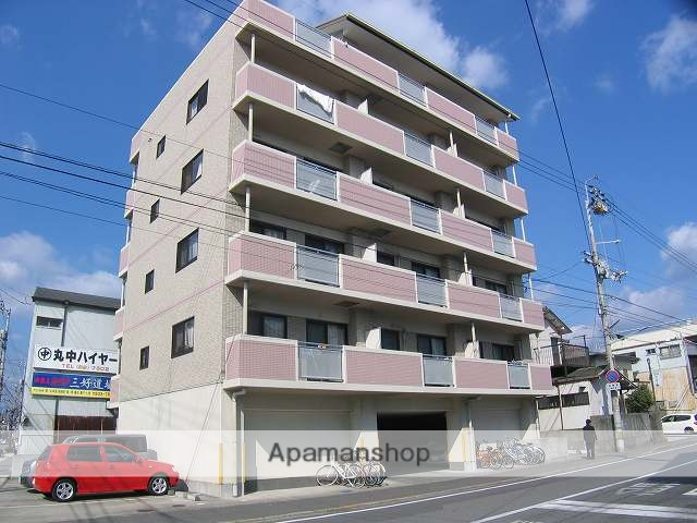 高知県高知市、知寄町三丁目駅徒歩9分の築16年 6階建の賃貸マンション